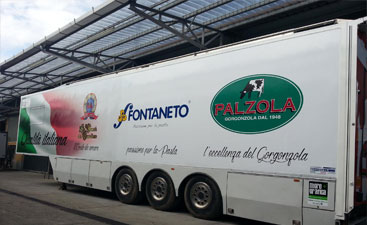 Wrapping camion Fontaneto Palzola