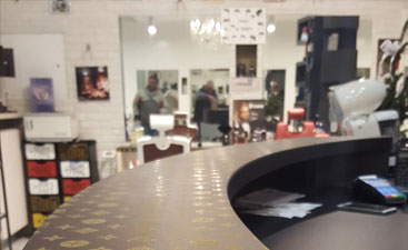 Wrapping Infinity Coiffeur