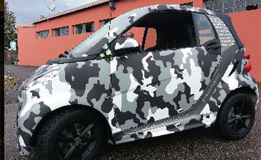Wrapping smart camo