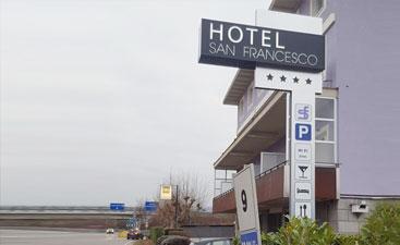 Insegna Hotel San Francesco